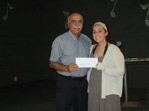 $1,000 Scholarship to Chloe Jamison