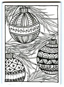 zentangle-christmas-ornaments